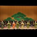 9、祝儀舞踊・古典音楽斉唱 (1)