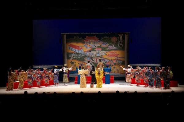 第二回宮城流美能留会公演「蓬莱島 沖縄」